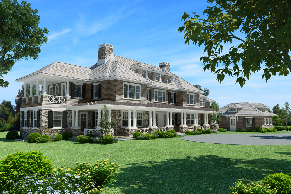 Impeccable Custom Designed Home For Sale: Greenwich, CT - Gardiner And Larson Homes