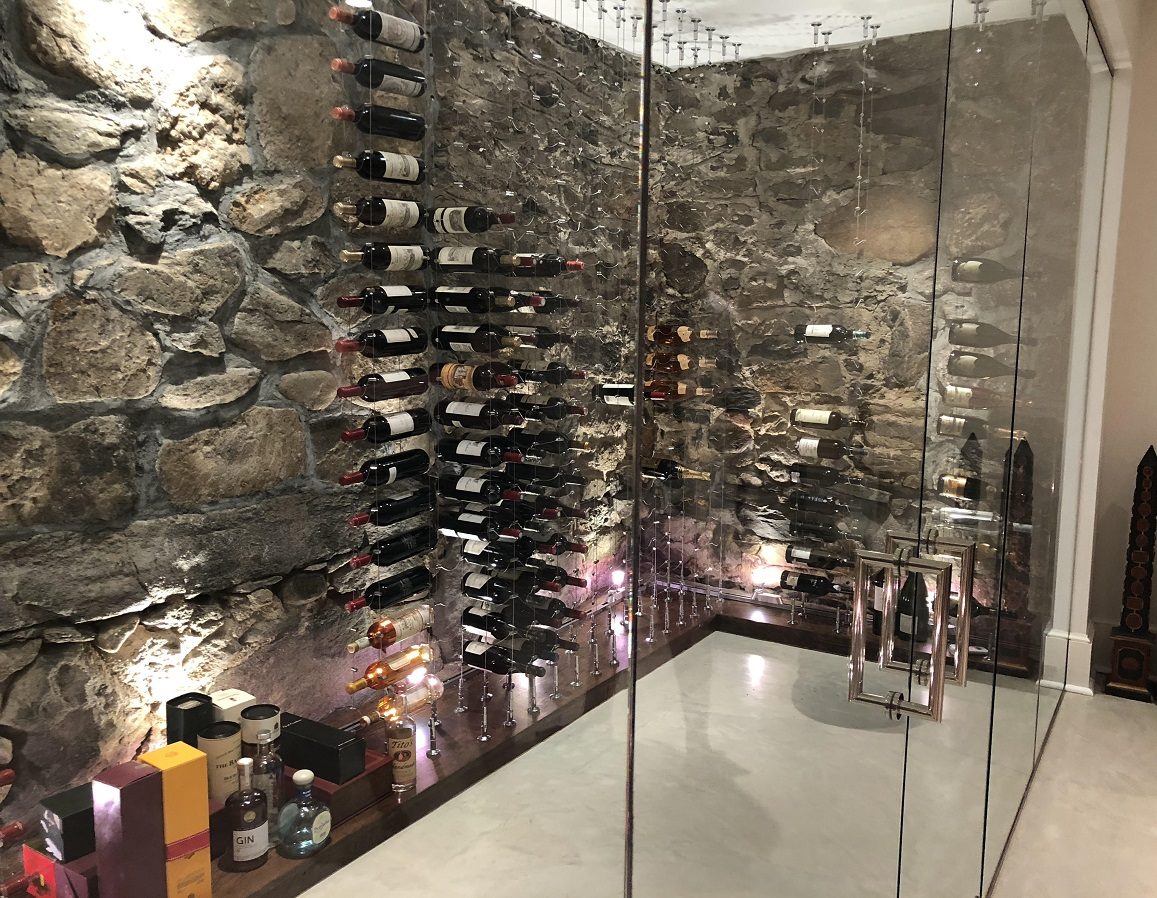 Consider Adding A Wine Room To Your Custom Home