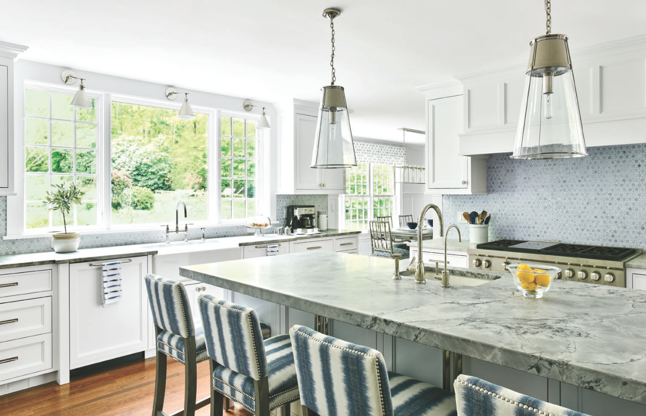 Judith Larson Featured In Connecticut Cottages And Gardens | Gardiner And Larson Homes